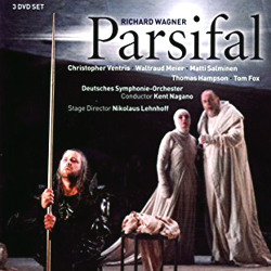 Parsifal dvd album cover